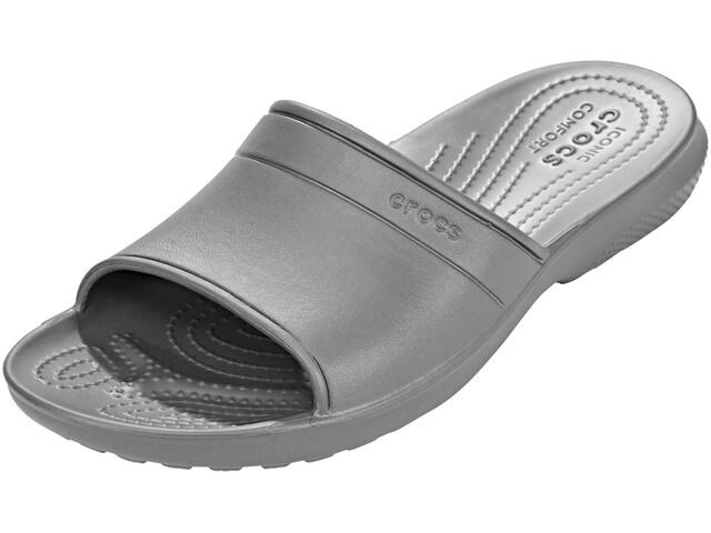 Crocs Classic Slide Slippers Unisex Slate Grey